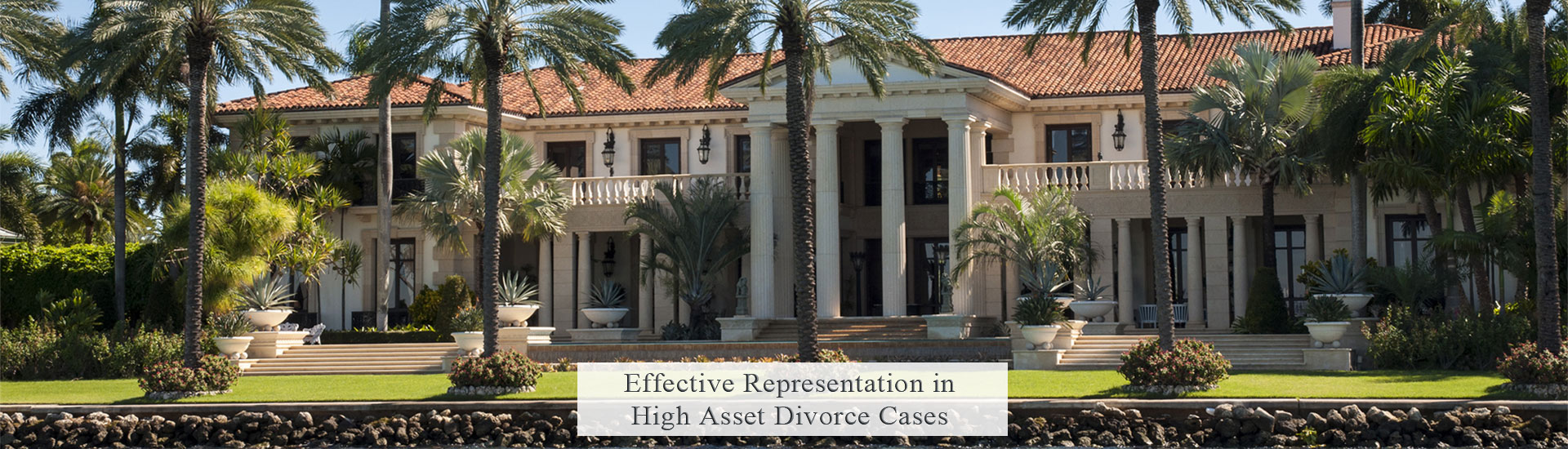 South Floirda High Asset Divorce Lawyer